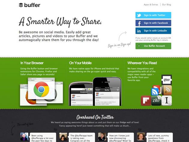 Buffer Best Web Design Tools