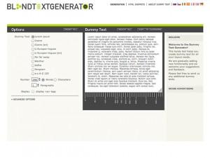 Blindtext-Generator