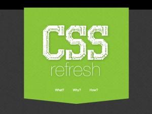 CSS Refresh