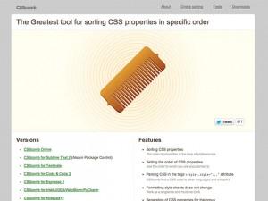 CSS Comb