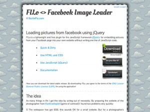 FILo – Facebook Image Loader
