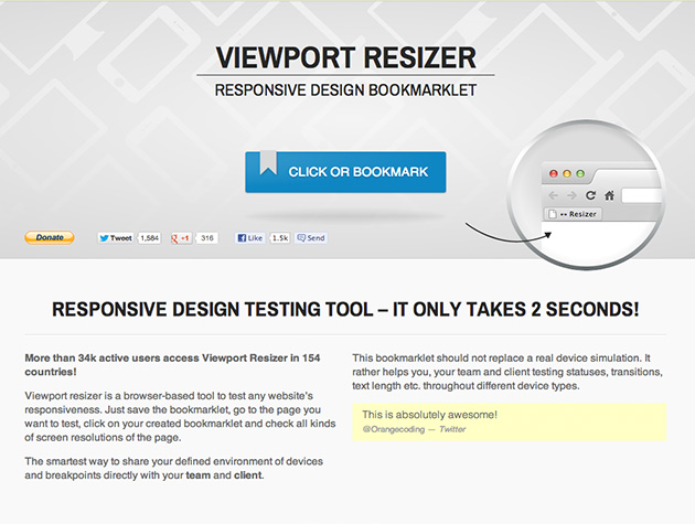 Viewport Resizer Best Web Design Tools