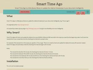 Smart Time Ago