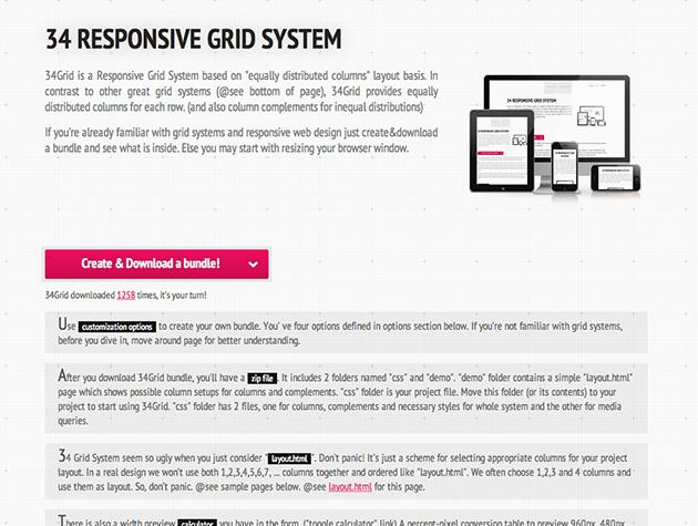 34 Responsive Grid System Best Web Design Tools