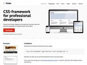 Kube CSS-Framework