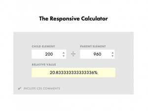 The Responsive Calculator