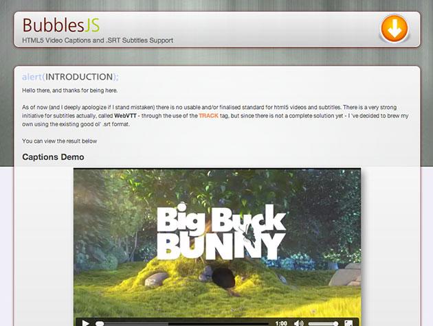BubblesJS | Best Web Design Tools