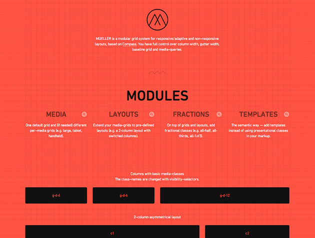 mueller grid system best web design tools