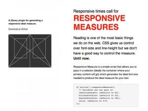 Responsive Measures