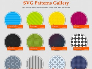 SVG Patterns Gallery