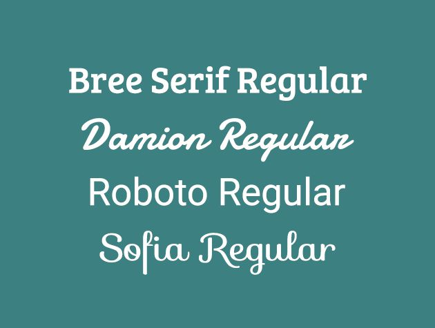 Best Web Fonts