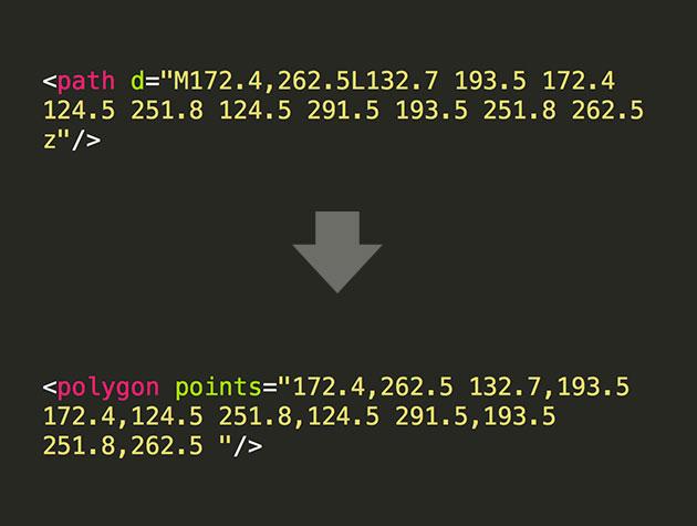 SVG Path to Polygon Converter | Best Web Design Tools