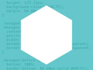 CSS Hexagon